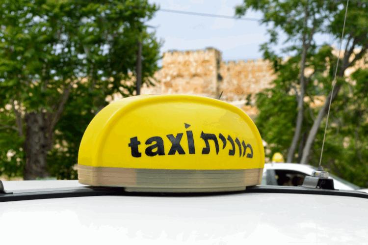 מונית בישראל. צילום: shutterstock