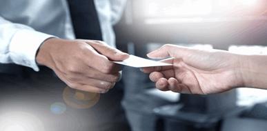 כרטיסי ביקור - כרטיס ביקור סטנדרטי או כרטיס ביקור דיגיטלי? - תמונת המחשה