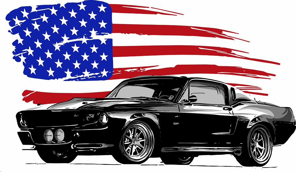 מכוניות אמריקאיות: תמונה שאטרסטוק