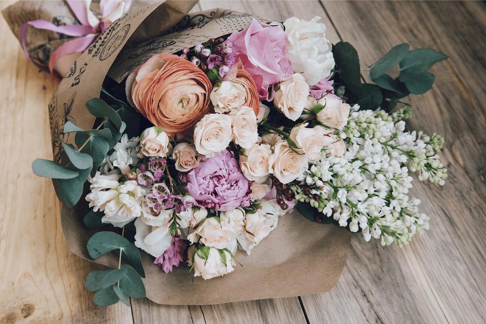 פרחים ורודים ל-2021: תמונה שאטרסטוק