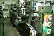 מכונה להדפסות מדבקות