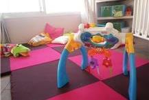 חדר משחקים לתינוקות בגן