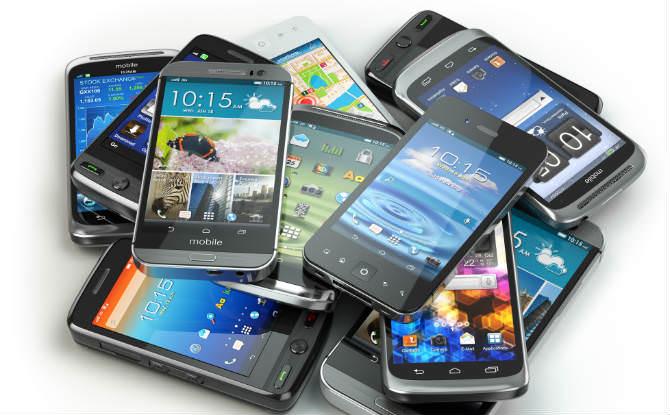 מגוון טלפונים ניידים