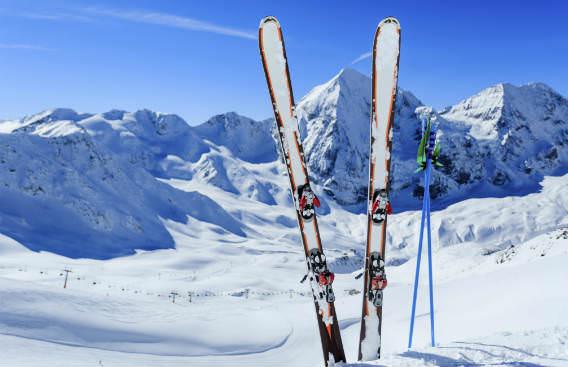 סקי בשלג