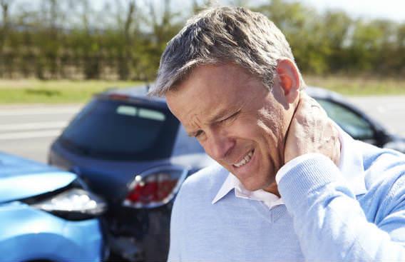 נפגע תאונת דרכים