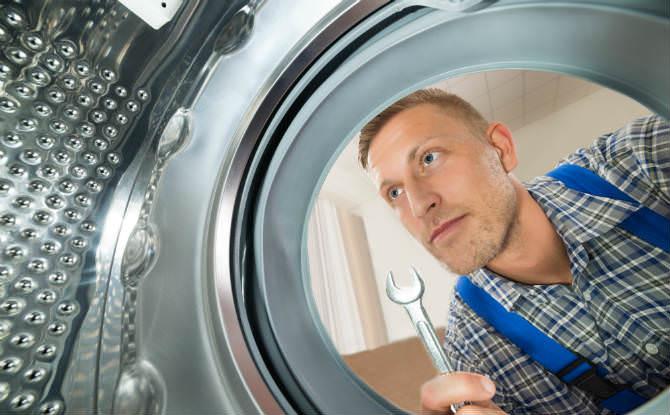 טכנאי מכונת כביסה