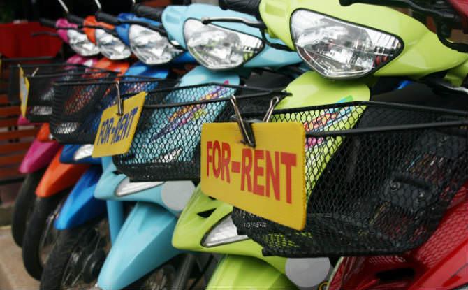 קטנועים להשכרה
