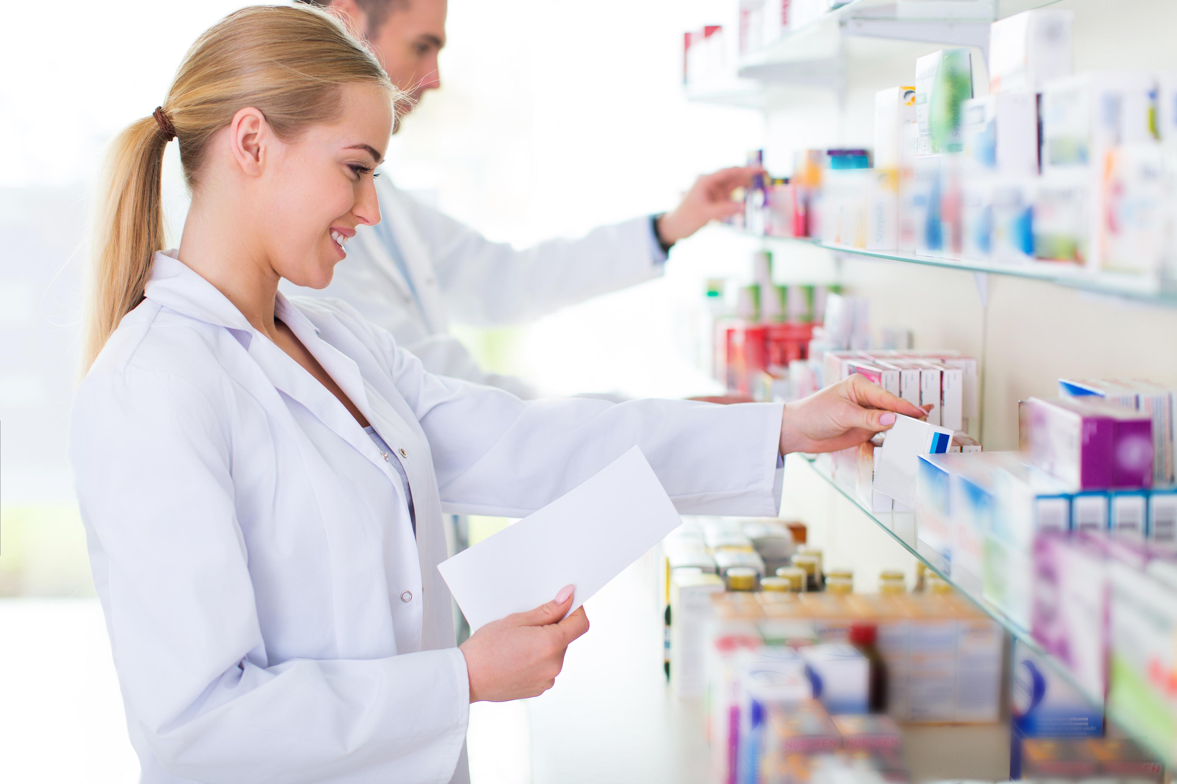 מגוון רחב של תרופות - בתי מרקחת